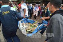 Rơi máy bay quân sự ở Indonesia, 4 người chết