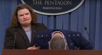 Tướng Mỹ ngất xỉu khi họp báo ngân sách quốc phòng