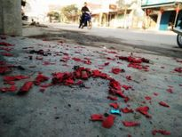 98 người bị thương do pháo nổ phải nhập viện