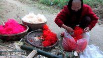 """Độc đáo hoa tre trong """"cúng bổn mạng"""" đầu năm ở Huế"""