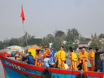 Rộn ràng lễ hội cầu ngư xứ Quảng