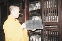 Mộc bản 'độc nhất vô nhị' ở nơi sáng linh Phật Việt