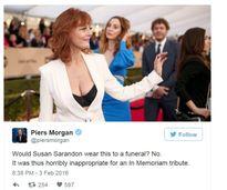 """Phụ nữ và Piers Morgan: cuộc chiến """"hở ngực"""""""