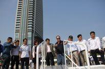 Phó Chủ tịch UBND Đà Nẵng Đặng Việt Dũng kiểm tra công tác chuẩn bị đón tàu Clipper