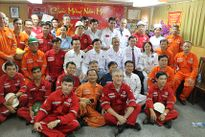 Lãnh đạo Tổng LĐLĐVN thăm, chúc tết công nhân lao động