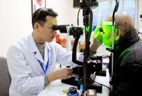Bệnh viện Mắt Nghệ An khám sàng lọc và cấp thuốc miễn phí cho bệnh nhân Glôcôm