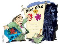 'Bệnh thành tích' và tệ báo cáo không trung thực