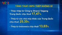 Tăng thuế chống bán phá giá thép không gỉ từ Trung Quốc, Indonesia