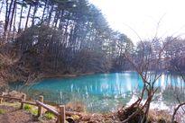 Những hồ nước xanh tuyệt đẹp ở Fukushima