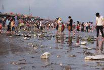 Hình ảnh 'người đi rác ở lại' trên bãi biển gây bức xúc