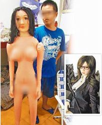 Khóc dở mếu dở vì mua búp bê tình dục qua mạng