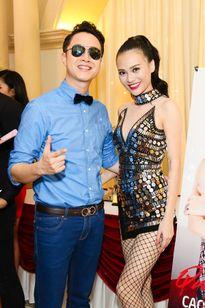 Nhật Tinh Anh đến chúc mừng Cao Thùy Linh ra mắt MV đầu tay