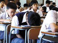 Học sinh chia ca ngủ gật trong lớp: Ghét học nhưng không để cô buồn