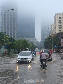 Cảnh báo ngập lụt có thể tiếp diễn khu vực Hà Nội