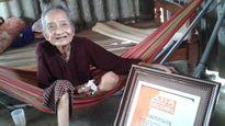 Về thăm cụ bà thọ nhất châu Á