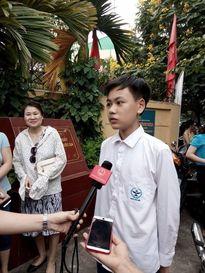Hà Nội: Đề Toán thi vào lớp 10 vừa sức, khả năng giành điểm 8, 9 trong tầm tay