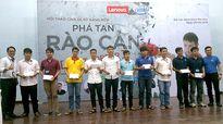 Lenovo trao 20 suất học bổng cho sinh viên công nghệ tài năng