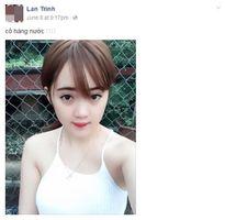 Mỹ nữ bán trà đá đi xế hộp ở Thái Nguyên gây bão Facebook
