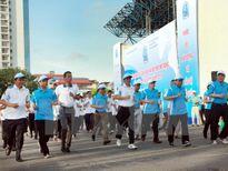 Trên 3.000 người tham gia phát động Giải chạy Báo Hànôịmới mở rộng