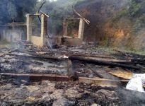 Phú Thọ: Nhà cháy rụi do chập điện