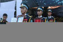 Phi công Khải được Chủ tịch nước truy tặng Huân chương Bảo vệ Tổ quốc
