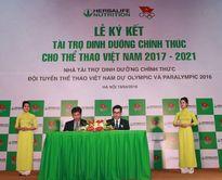 Herbalife – Đối tác chiến lược của đoàn thể thao Việt Nam
