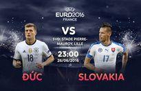 Link xem trực tiếp bóng đá: Đức - Slovakia