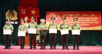 Trao giải cuộc thi tìm hiểu 70 năm truyền thống lực lượng ANND