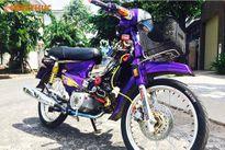 """Honda Dream Thái """"độ kiểng"""" côn tay siêu mạnh tại VN"""