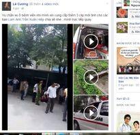 Vụ bảo vệ BV Nhi chặn xe cứu thương: Thêm nhiều clip mới