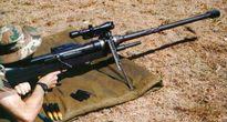 Xem sức mạnh súng trường bắn tỉa cỡ lớn của Nam Phi nã đạn