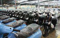 6 tháng thị trường xe máy tăng trưởng 8%