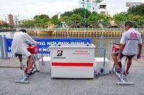 Người Sài Gòn hào hứng với máy tập thể dục 'kiêm' lọc nước làm sạch kênh Nhiêu Lộc - Thị Nghè