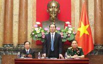 Chủ tịch nước Trần Đại Quang gặp mặt đoàn đại biểu cựu chiến binh