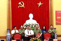 Bộ Công an và Ban Tuyên giáo Trung ương đã Ký kết Chương trình phối hợp công tác