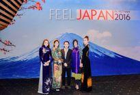 Diễn viên Yan My xuất hiện rạng rỡ trong ngày hội văn hóa Nhật Bản