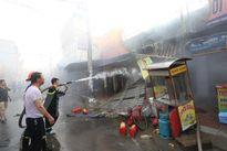 Gia Lai: Cháy chợ huyện K'Bang, thiệt hại hàng chục tỷ đồng