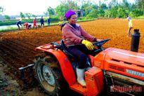 Nông dân Diễn Châu được hỗ trợ gần 1 tỷ đồng mua máy nông nghiệp