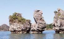 Vịnh Bái Tử Long, Quảng Ninh: Vì sao Hòn Thiên Nga 'cụt đầu'?