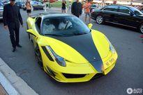 """Samuel Eto'o cưỡi """"ngựa chiến"""" Ferrari 458 Italia đến Monaco"""