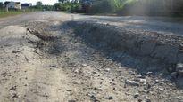Con đường vừa bàn giao đã hỏng (Nghệ An): Bắt đầu sửa chữa từ ngày 22/7