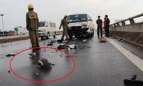 3 ô tô tông liên hoàn, hư hại nặng vì… chiếc mũ bảo hiểm