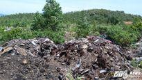 Gần một nửa rác thải đổ trái phép ở Kỳ Anh là của Formosa