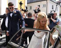 'Trai đẹp' của tuyển Đức làm đám cưới với bạn gái siêu mẫu
