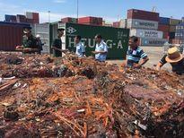 Khám xét 6 container hàng đã qua luồng xanh của Công ty Thành Hải do nghi buôn lậu