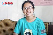 Thủ khoa khối C tại Hà Tĩnh và ước mơ thành nữ cảnh sát