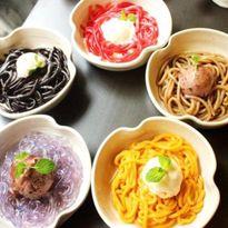Mùa nóng nực, tìm những món ăn màu mè mát mẻ nhất Hà Nội