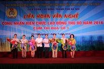 Liên hoan văn nghệ CNVCLĐ Thủ đô Cụm Thi đua số 1: Đội LĐLĐ quận Đống Đa đoạt giải nhất