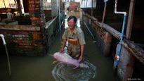 Số người chết vì mưa lũ Trung Quốc tăng vọt