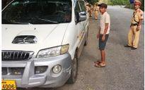Quảng Bình: Phát hiện lái xe dương tính với chất ma túy